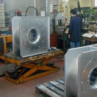 Centrifugal Fans production