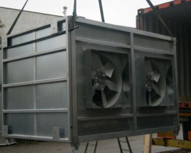 Double Fan for Oil & Gas Industries